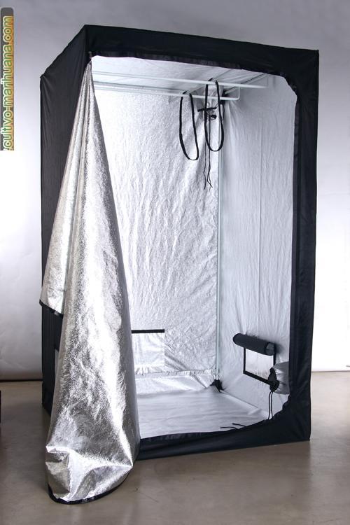 Armario Indoor Casero ~ Secret Jardin Armario de Cultivo 100x100x200 cm 190 u20ac